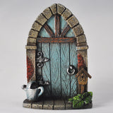 Mini Blue Fairy Door - Archway - Prezents  - 1