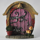 Mini Pink Fairy Door - Hobbit Shire - Prezents  - 1