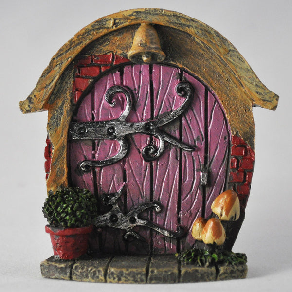 Mini fairy door pink hobbit shire prezents for The works fairy door