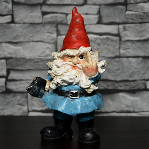Gnome- Middle Finger