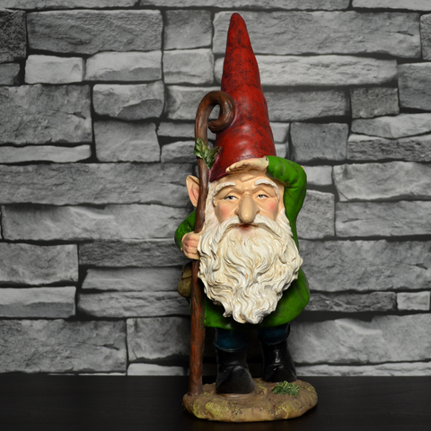 Gnome- Gazing With Stick