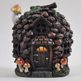 Pine Cone Fairy House with Lights - Prezents  - 1