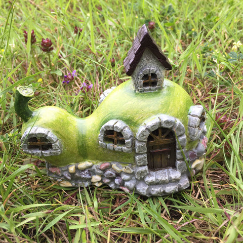 Fallen Pear Fairy House with Lights - Prezents  - 1