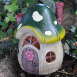 Fairy House - Green Toadstool with Lights - Prezents.com