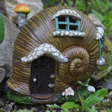 Fairy House - Snail Shell with Lights