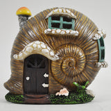 Mystical Snail Shell Fairy House with Lights - Prezents  - 2