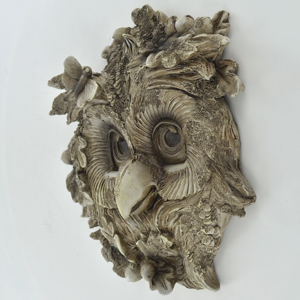 Owl Woodland Wall Plaque