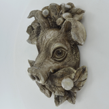 Pig Woodland Wall Plaque