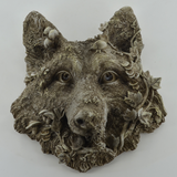 Wolf Woodland Wall Plaque