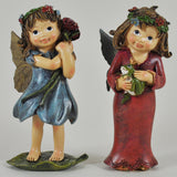 Flower Fairies Holding Flower and Prince Frog - Prezents  - 1