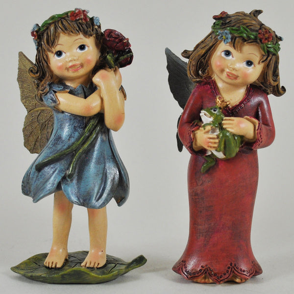 Flower Fairies Holding Flower and Prince Frog - Prezents.com