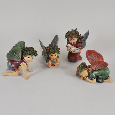 Flower Fairies - Assorted Set of Four - Prezents.com