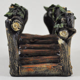 Miniature Wooden Bridge for the Fairy Garden - Prezents  - 2