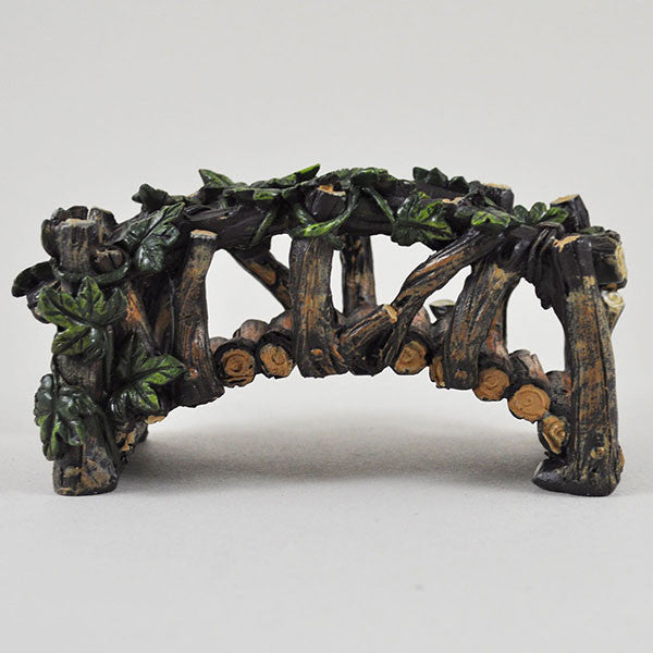 Miniature Wooden Bridge for the Fairy Garden - Prezents  - 1