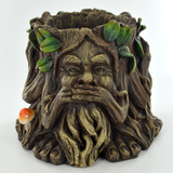 Tree Ent Planter Pot- Hear No See No Speak No Evil