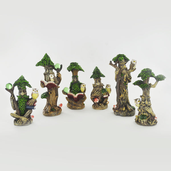 Set of Six Tree Ent Figurines - Prezents.com