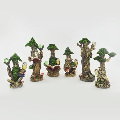 Set of Six Tree Ent Figurines
