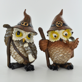 Mystical Owls- Set of Two