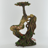 Treant Lady Birch Candle Holder