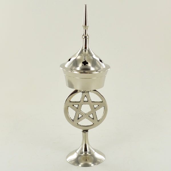Incense Cone Burner Pentagram Stand - Prezents.com