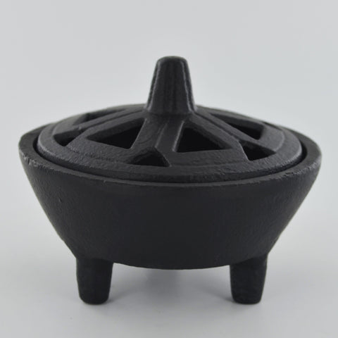 Incense Cone Burner Cauldron Stand - Prezents.com