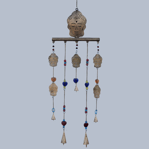 Buddha Bar Brass Wind Chime - Prezents.com