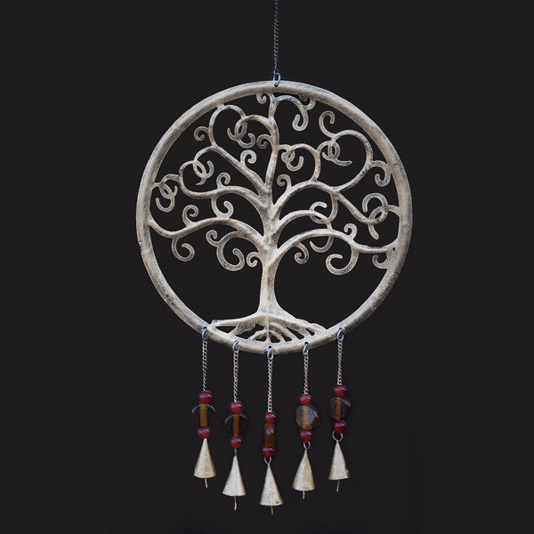 Tree of Life Metal Wind Chime - Prezents.com