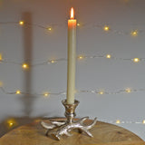 Antlers of Exmoor Single Candle Stick Holder - Prezents.com