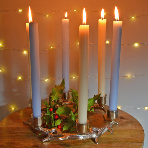 Antlers of Exmoor Six Candle Holder - Prezents.com