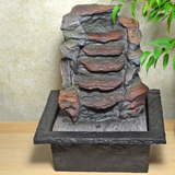 Indoor Water Fountain Stone Cascade