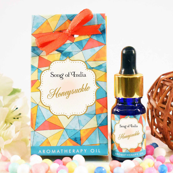Honeysuckle Aroma Therapy Oil in Beautiful Gift Box 10ml - Prezents.com