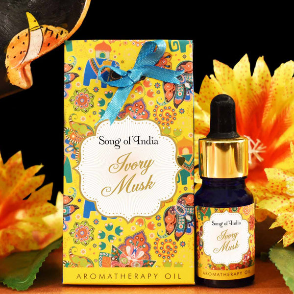 Ivory Musk Aroma Therapy Oil in Beautiful Gift Box 10ml - Prezents.com