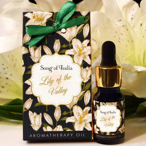 Lily of the Valley Aroma Therapy Oil in Beautiful Gift Box 10ml - Prezents.com