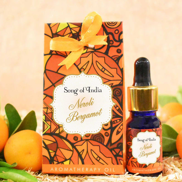 Neroli Bergamot Aroma Therapy Oil in Beautiful Gift Box 10ml - Prezents.com