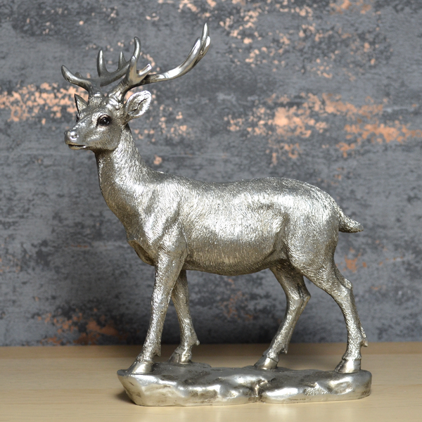 Deer Silver Sculpture
