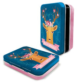 Woodland Deer Metal Keepsake Tin