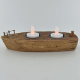 Nautical Boat T Light Holder