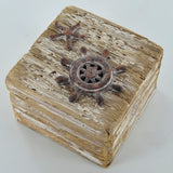 Nautical Ships Wheel Box