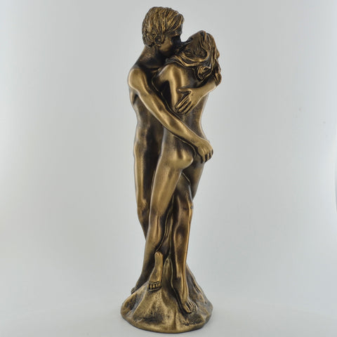 As One, Erotic Bronze Effect Sculpture - Prezents.com