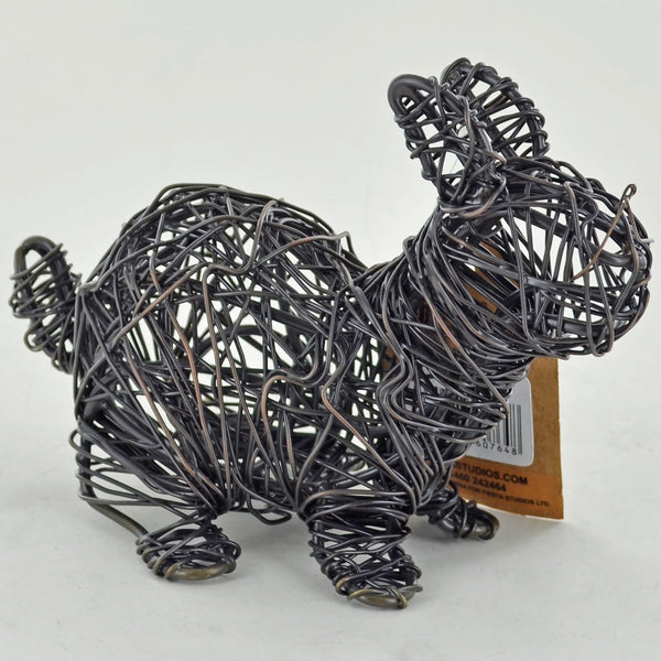 Bronze Wire Wrapped Rabbit