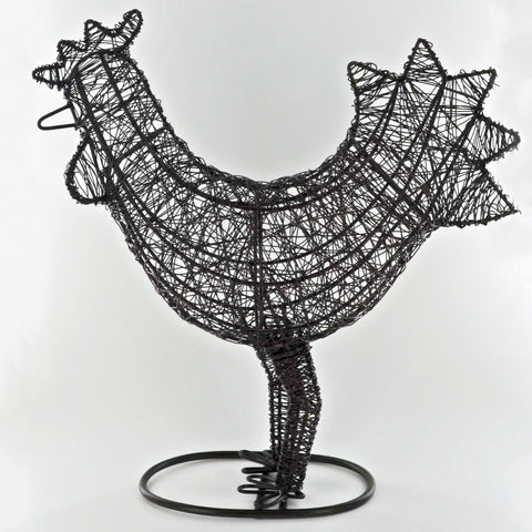 Wire Wrapped Rooster