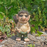 Troll Town - Troll Holding His Trousers Up