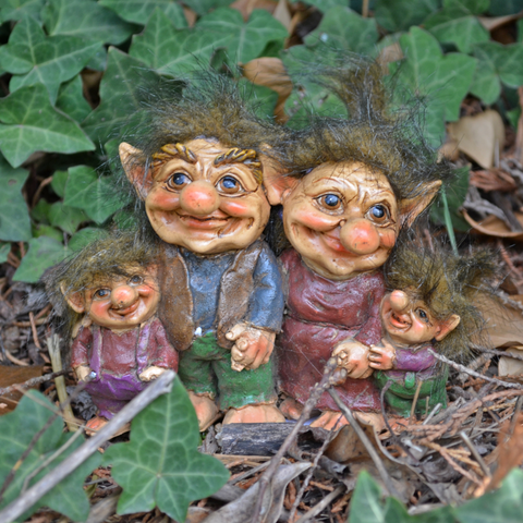 Troll Town - Family of Four