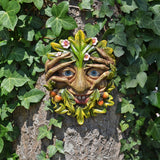 Tree Face Plaque - Cheeky Peeper