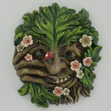 Tree Face Plaque - Cheeky Nose
