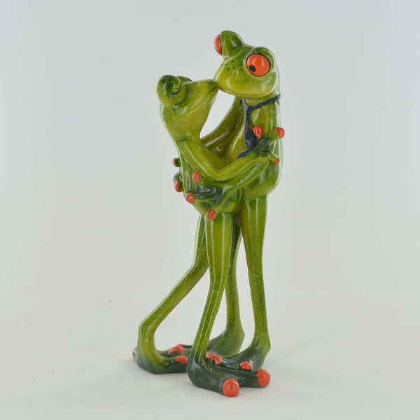 Comical Frogs - Couple Kissing - Prezents.com