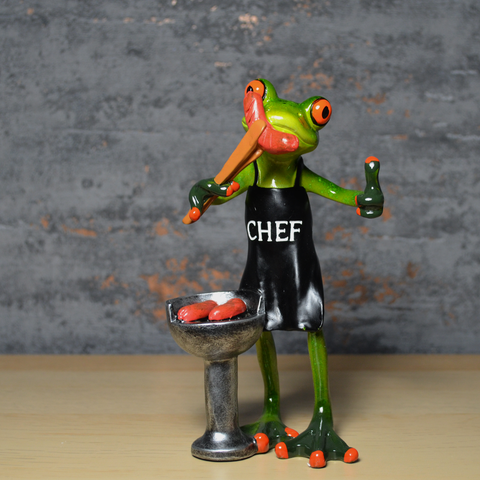 Comical Frogs - BBQ Chef