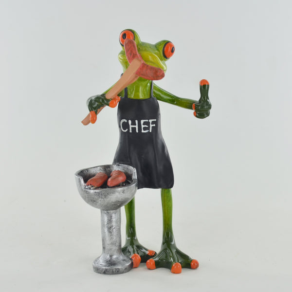 Comical Frogs - BBQ Chef - Prezents.com