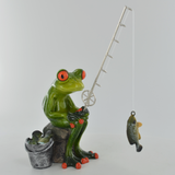 Comical Frogs - Reel Them In