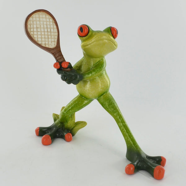 Comical Frogs - The Tennis Ace